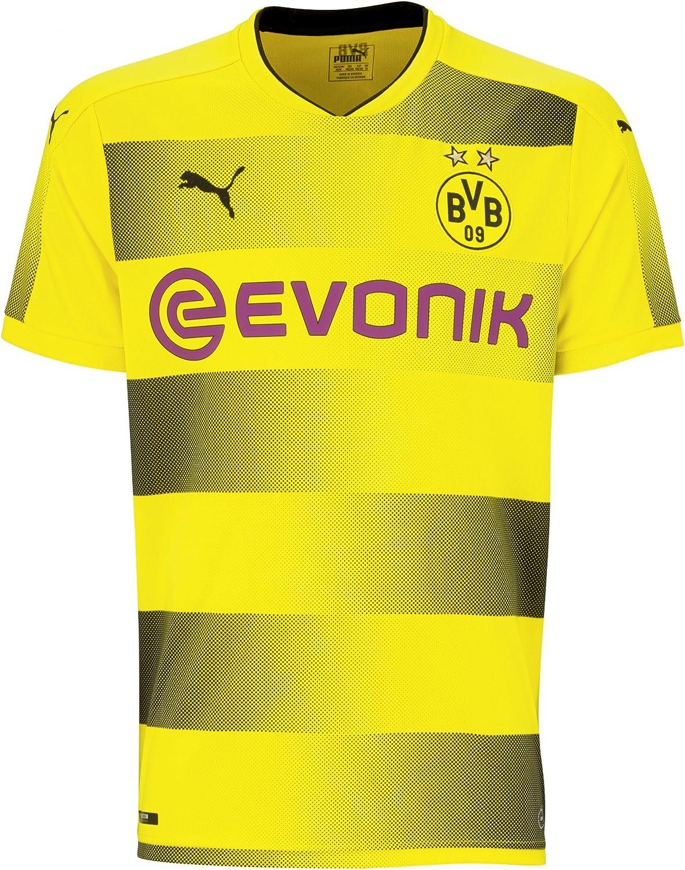 Puma - Camiseta del Borussia de Dortmund primera equipación, temporada 17/18