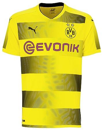 Puma Bvb 09 Borussia Dortmund Home Trikot 1718 Gelbschwarz Xxl