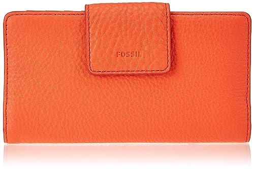 Fossil - Emma, Carteras Mujer, Pink (Lava), 2.2400000000000002x8.89x17.78 cm (B x H T): Amazon.es: Zapatos y complementos