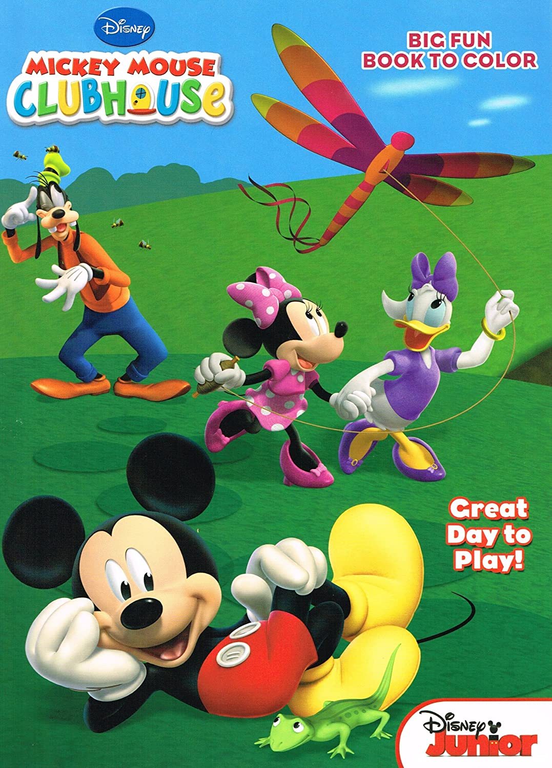 Amazon Mickey Mouse Clubhouse Big Fun Book To Color 2