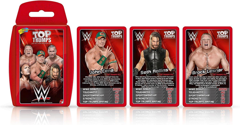 WWE Top Trumps: Amazon.es: Juguetes y juegos