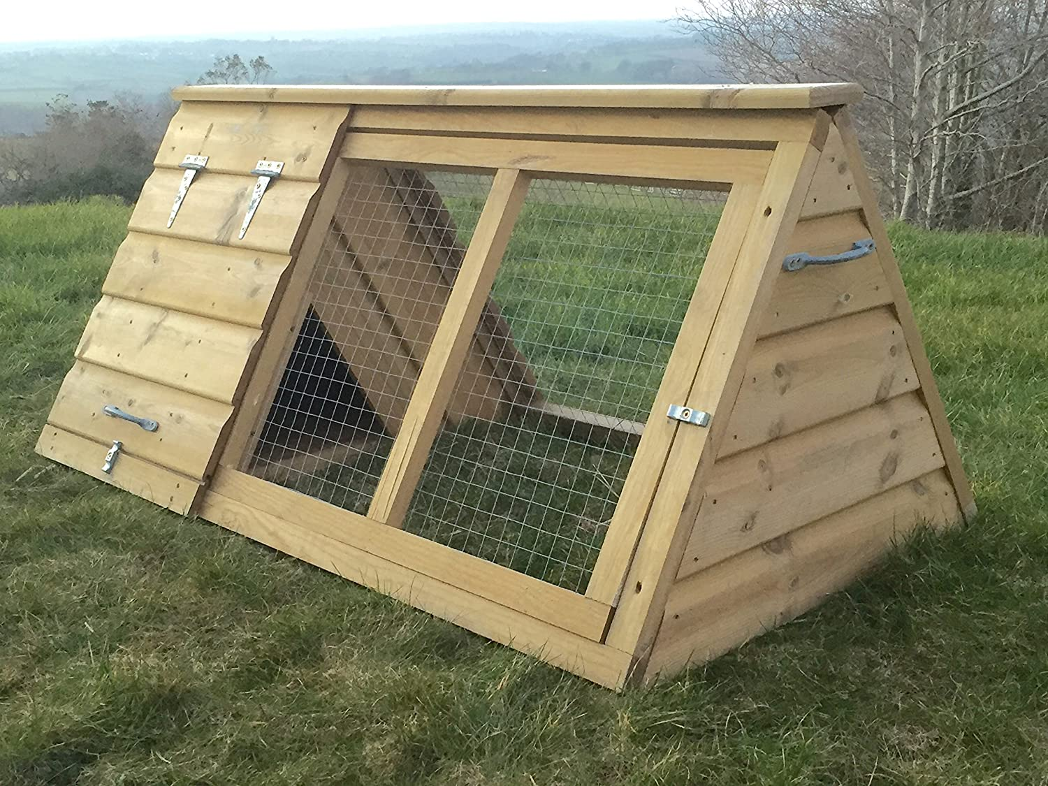 4' x 2' Broody Coop suitable as a Chicken House, Duck House, Hen House, Small animal House for guinea Pigs, Rabbits, ferrets or other small animals or poultry. (Poultry House) South West Timber Products