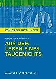 Aus dem Leben eines Taugenichts: Analyse / Interpretation (German Edition)