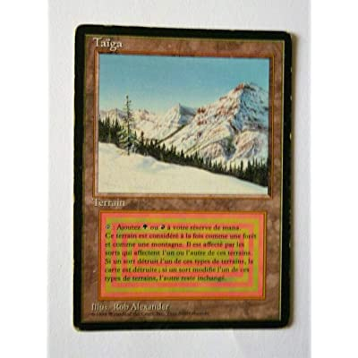 Magic: the Gathering - Taiga - Revised Edition: Toys & Games