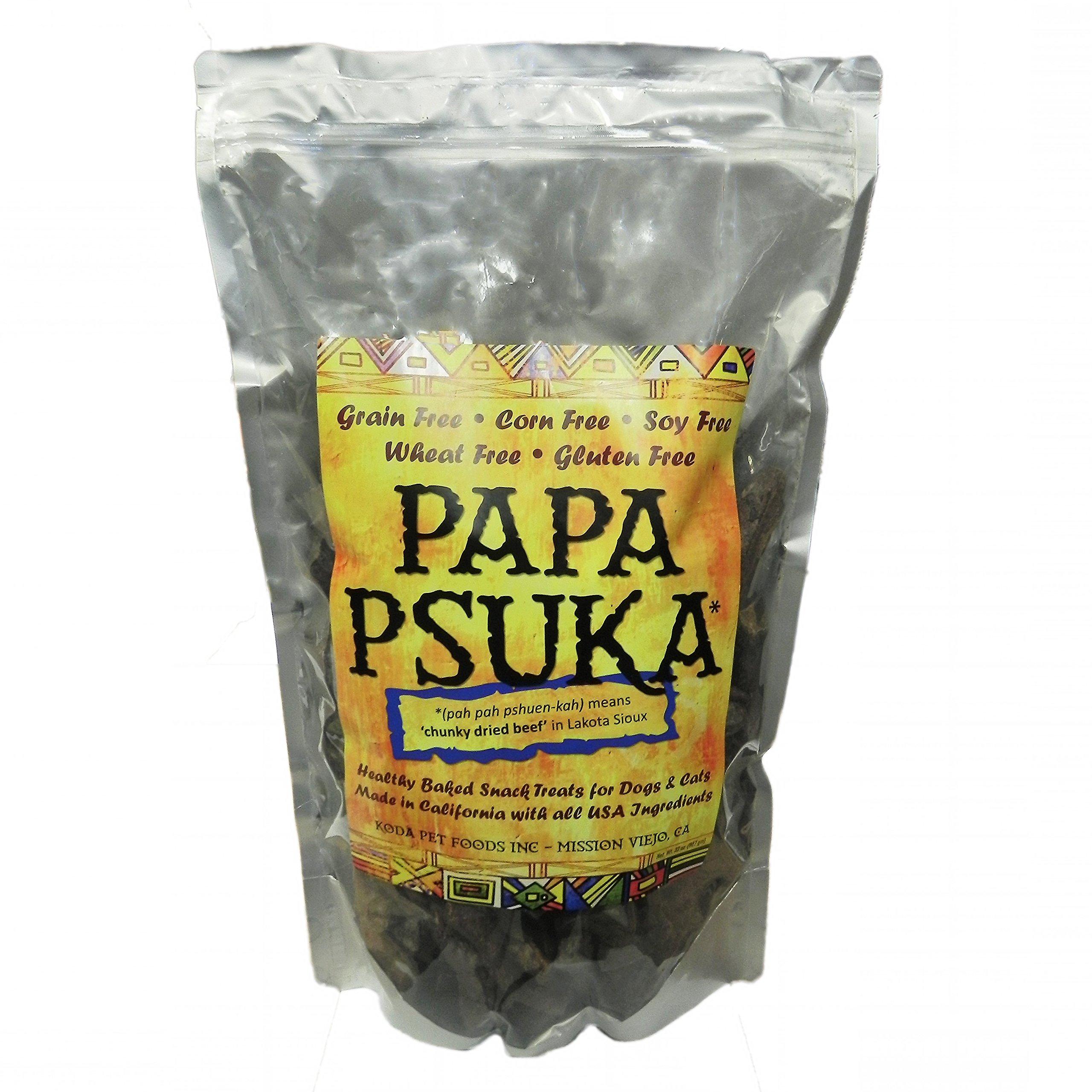 Koda Pet Papa Psuka - Baked Chunky Dried Meat 32oz by Koda Pet