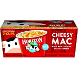 Horizon Organic Classic Mac Cheese, Microwaveable Macaroni and Mild Cheddar, 2 Count (Pack of 6)