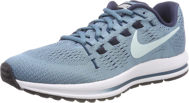 Nike Wmns Air Zoom Vomero 12, Zapatillas para Mujer, Multicolor (Cerulean/Glacier Blue/Thunder Blue 001), 43 EU: Amazon.es: Zapatos y complementos