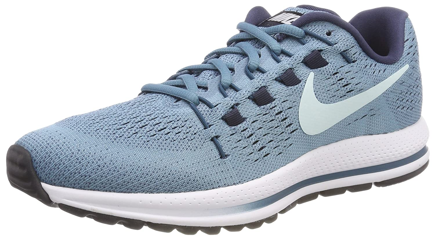 NIKE Men's Air Zoom Vomero 12 Running Shoe B072KNQ576 6 B(M) US|Cerulean/Glacier Blue