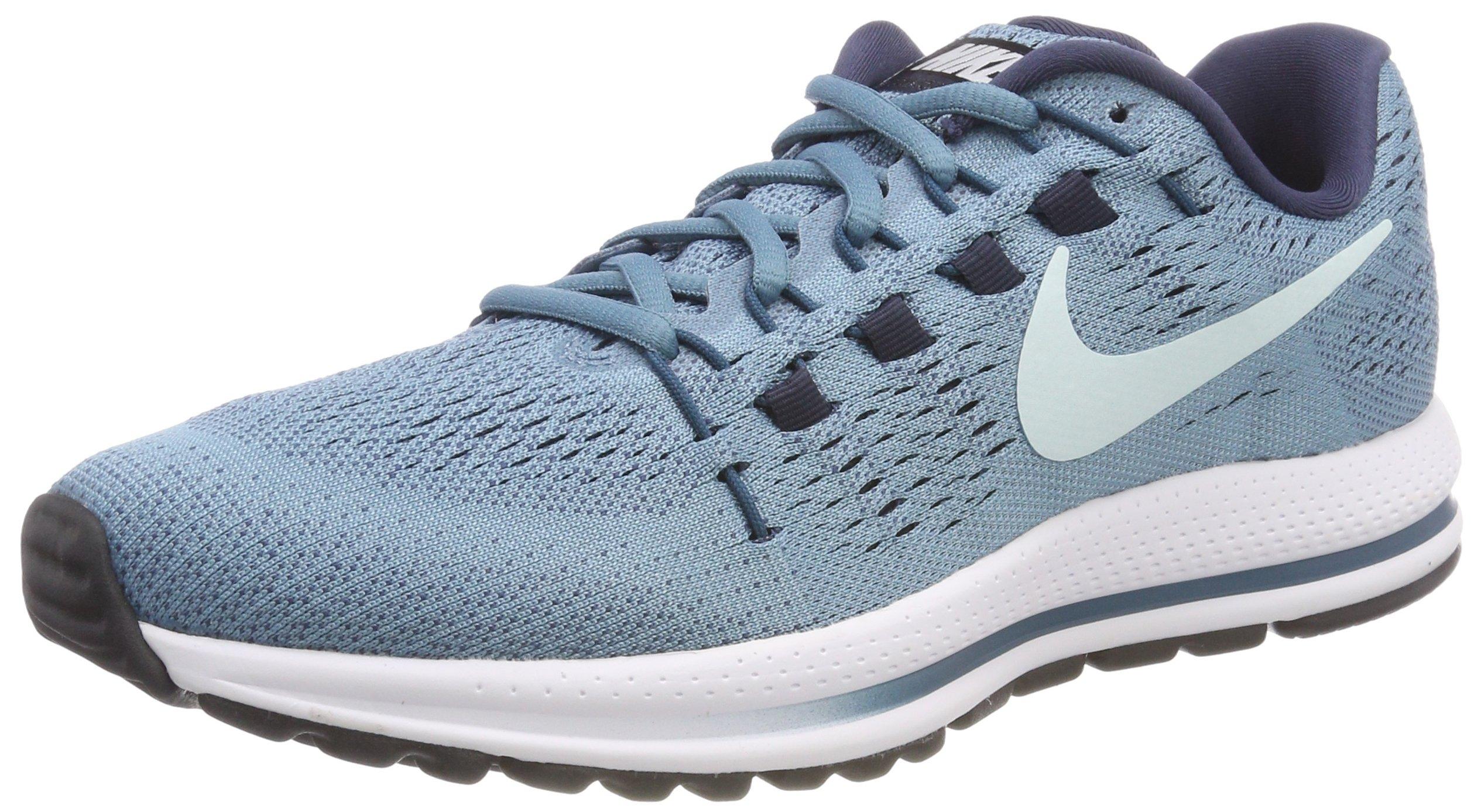 a906e104a2f6 Galleon - Nike Women s Air Zoom Vomero 12 Running Shoe Cerulean Glacier Blue -Thunder Blue 8.5
