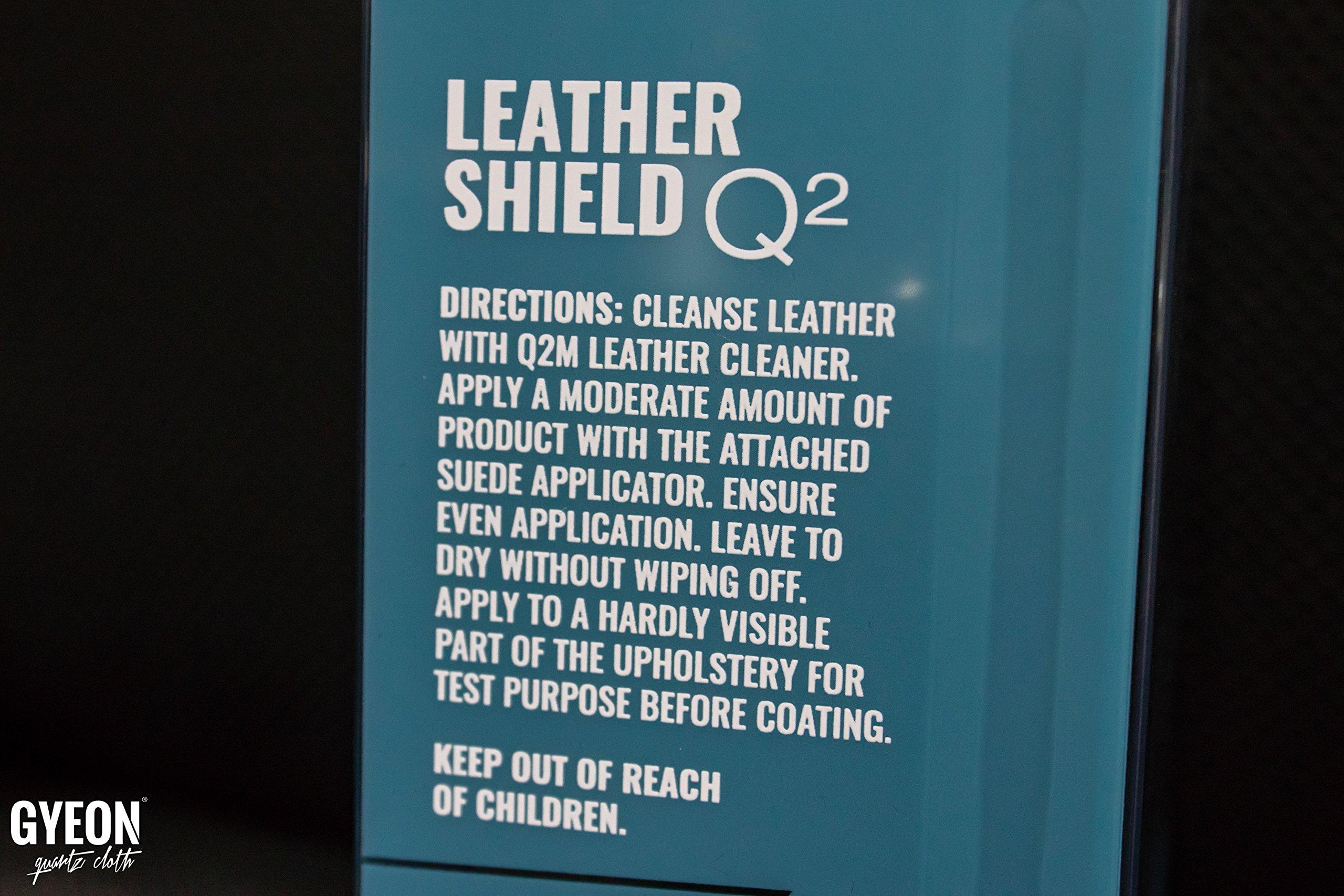 GYEON Quartz LeatherShield 50ml by GYEON quartz Cloth (Image #4)