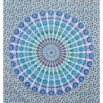 Amazon.com: RawyalCrafts Mandala Tapestry, Bohemian Wall Hanging ...