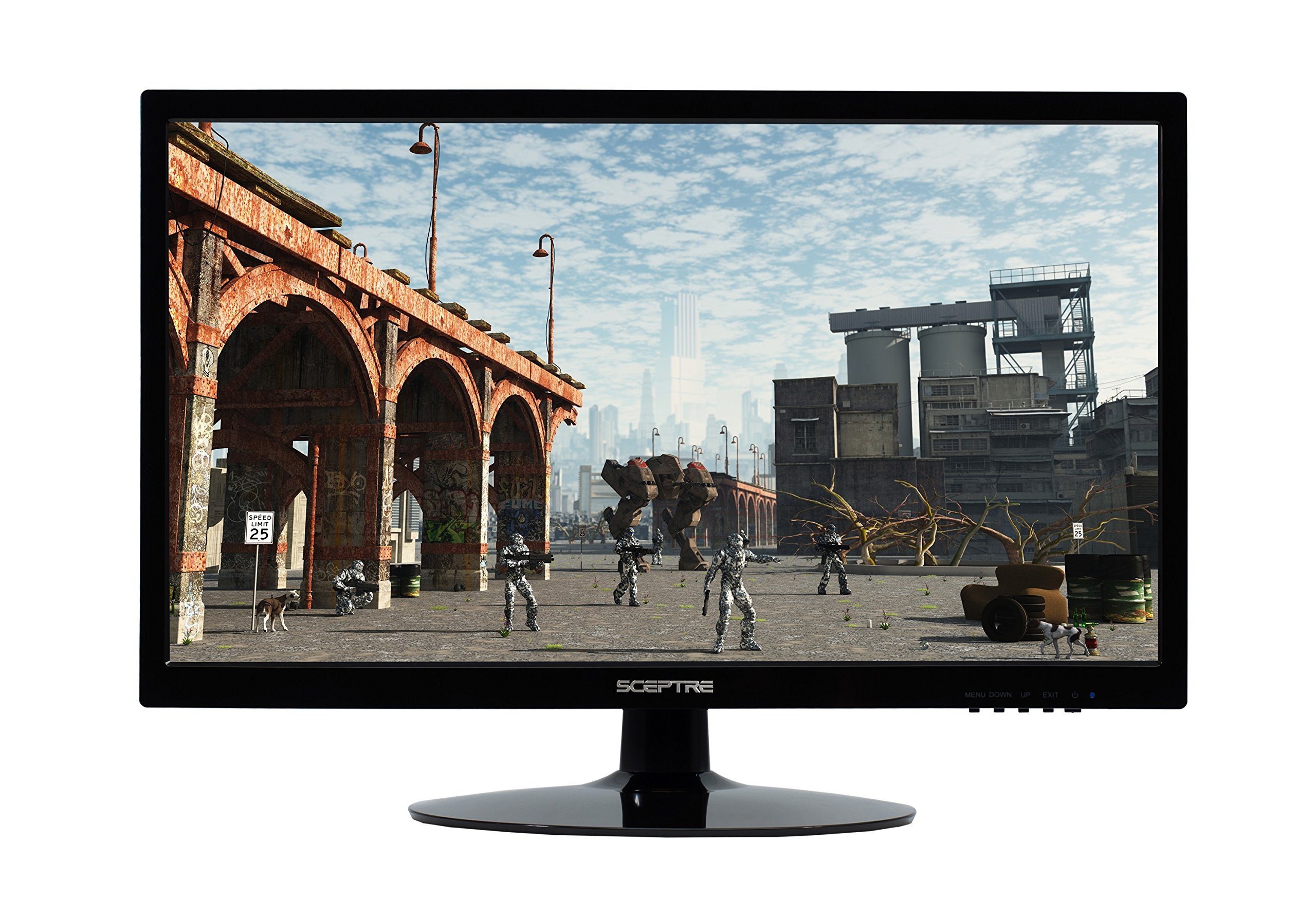 Sceptre E Series 20-inch Screen LED-Lit Monitor (E205W-16009A)