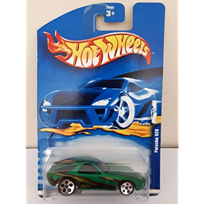 #2001-103 Porsche 928 Large/Small Wheels Collectible Collector Car Mattel Hot Wheels 1:64 Scale: Toys & Games