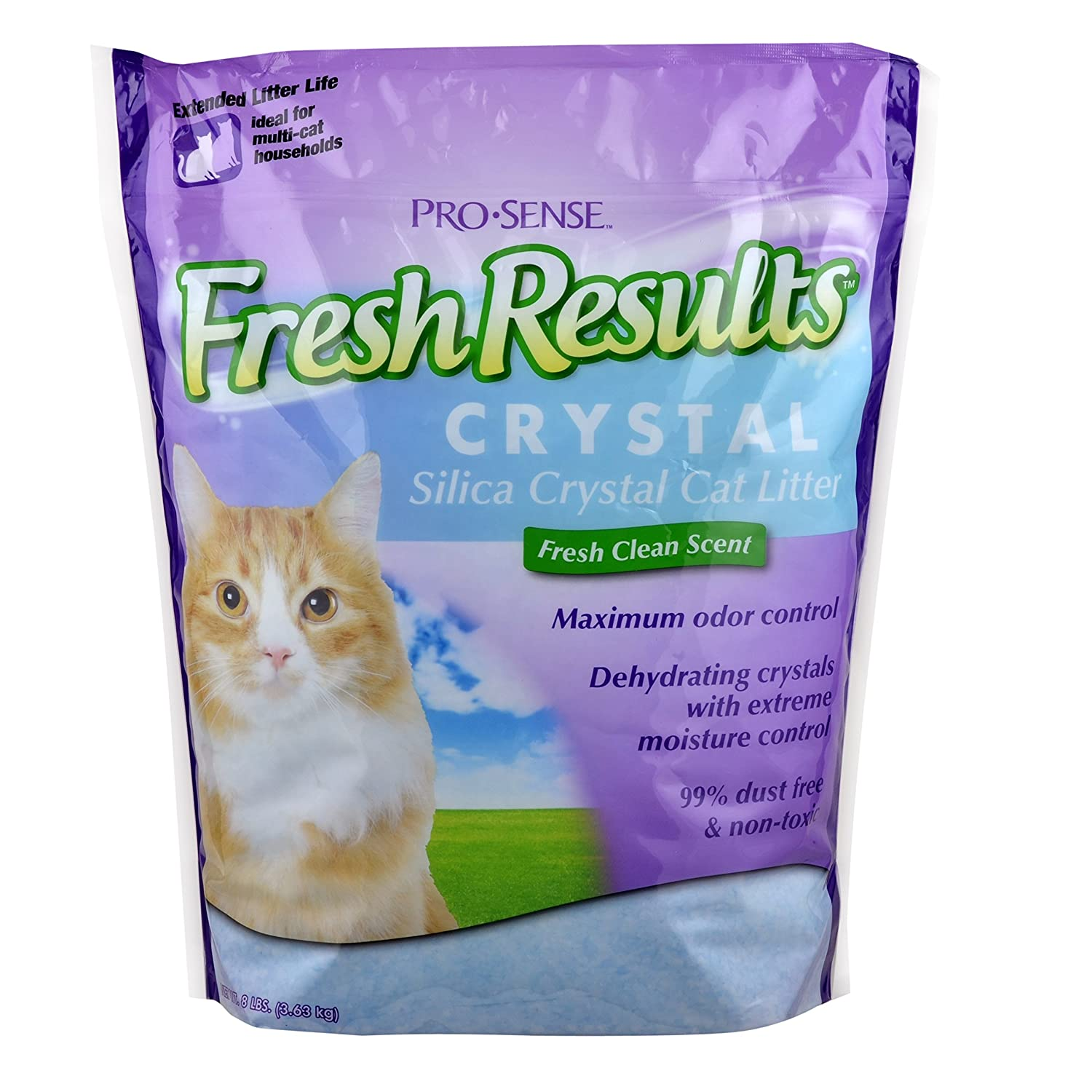 Pro Sense Fresh Results Crystal Silica Cat Litter