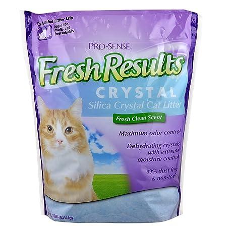 Pro-Sense Fresco Resultados Cristal Sílice Cat Litter, 8-Pound
