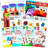 Flash Cards for Toddlers Kids Ultimate Set Bundle ~ 12 Packs of Flashcards (ABC Flash Cards; Colors and Shapes, Numbers…