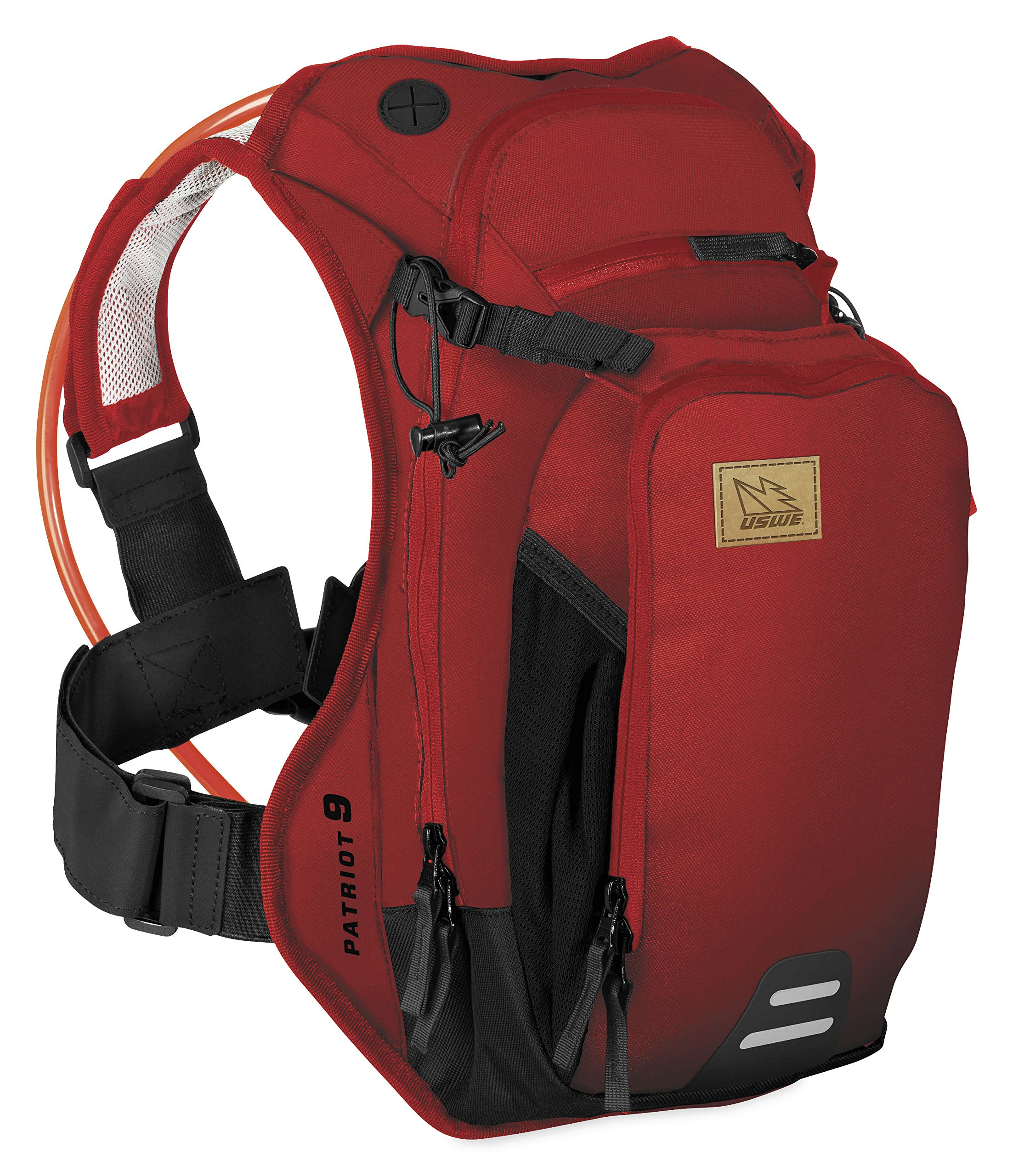 Uswe Red Patriot Cb - 15 Litre Hydration Pack (Default , Red)