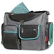 Fisher-Price FastFinder Wide Open Diaper Bag