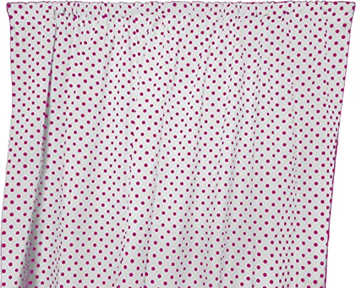 Deal of the week: Zen Creative Designs Decorative Cotton Small Polka Dot Curtain Panel/Home Window Decor/Window Treatments/Small/Dots/Spots 58 Inch x 120 Inch