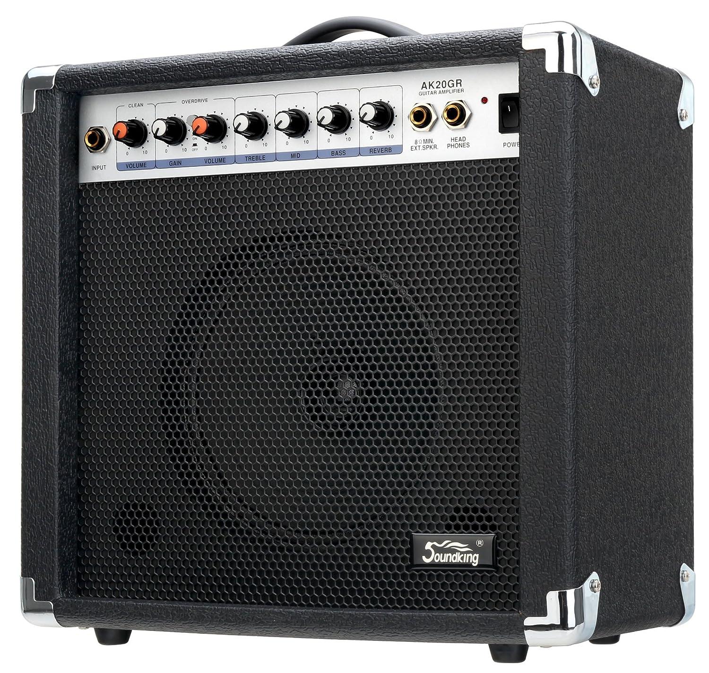 Soundking AK20-GR - Amplificador bajo eléctrico, 2 canales, 60 W Soundking Spain