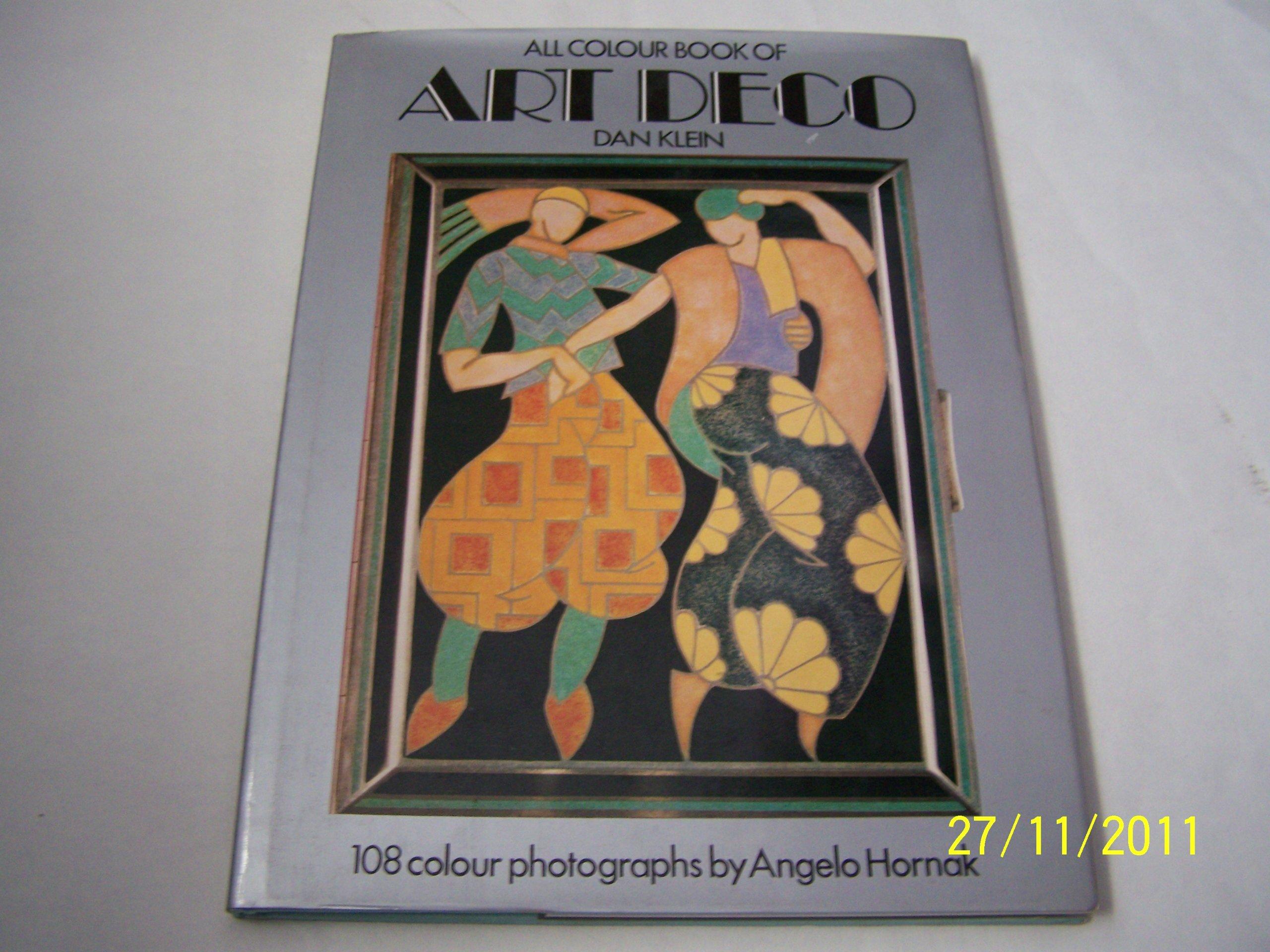 Colour book art - All Color Book Of Art Deco Dan Klein 9780706403237 Amazon Com Books