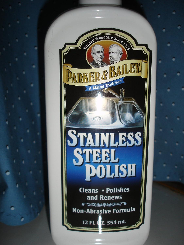 パーカー& Baileyステンレススチールポーランド特殊12オンスサイズ B0076ZFHEG