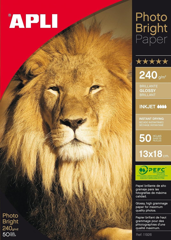 280 GR 25H Apli Paper 4458 Papel Fotogr/áfico A4