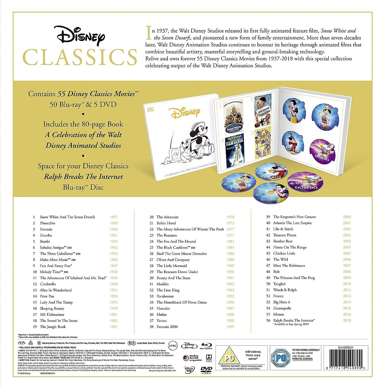 Disney Classics BD Boxset [Italia] [Blu-ray]: Amazon.es: Cine y ...