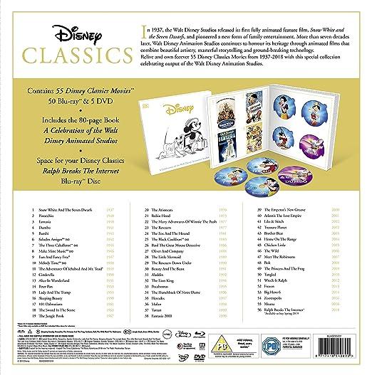 Amazon Com Disney Classics Complete 55 Disk Movie Box Set