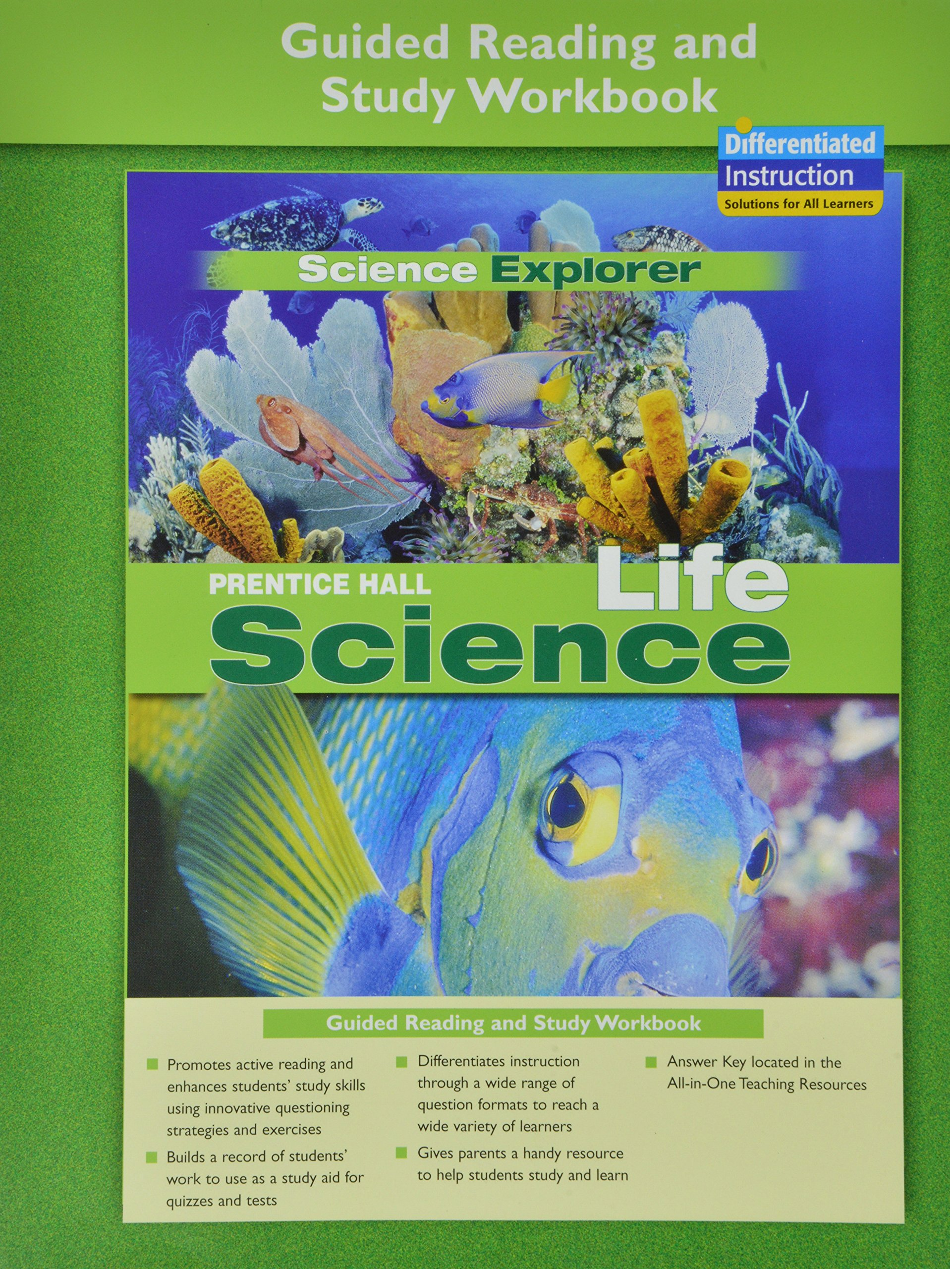 Prentice Hall Science Explorer Life Science Guided Reading and Study  Workbook 2005: Michael J. Padilla, Ioannis Miaoulis, Martha Cyr:  9780131901971: Books ...
