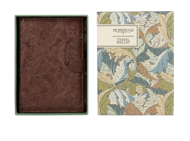 Morris /& Co Refined Gentleman 16 cm Travel Passport Wallet