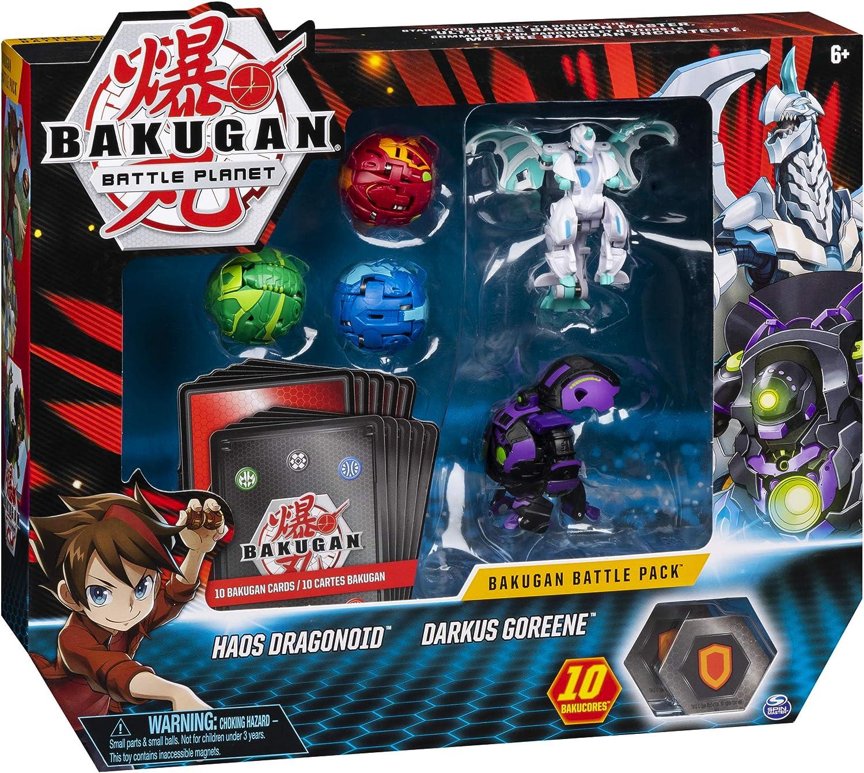 BAKUGAN BTB Battle Paquete de 5 - 10 NBL: Amazon.es: Juguetes y juegos