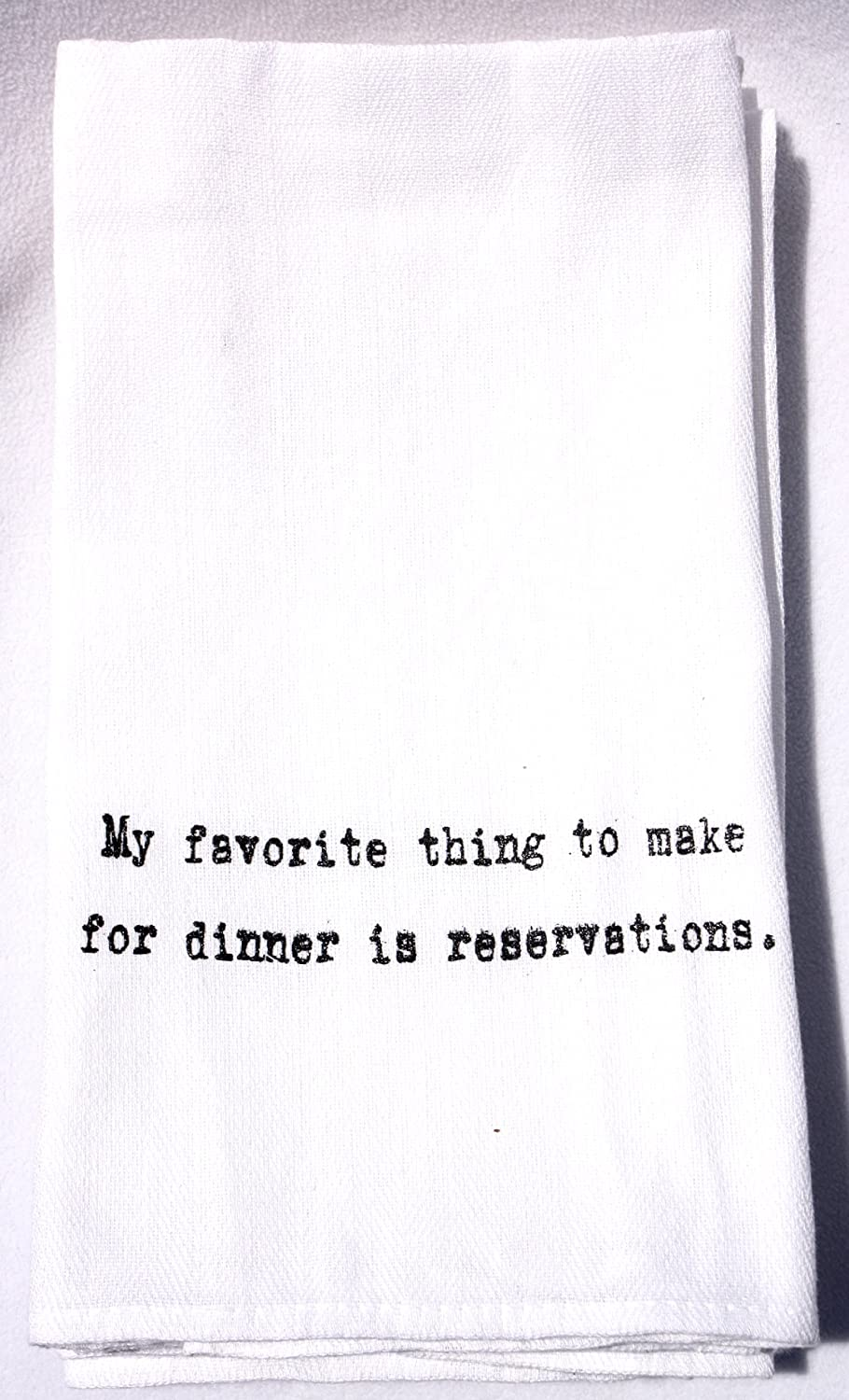 Amazon.com: Flour Sack Quote Dish Kitchen Towels (Yes. I am still in ...