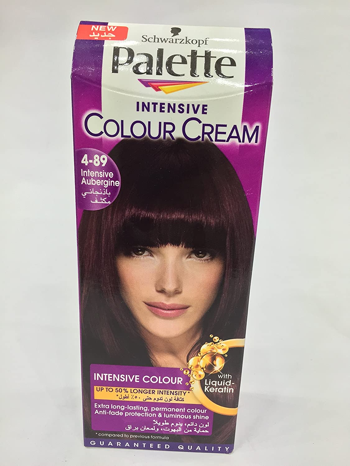 Buy schwarzkopf palette intensive hair colour cream with liquid buy schwarzkopf palette intensive hair colour cream with liquid keratin 4 89 intensive aubergine 100 ml online at low prices in india amazon geenschuldenfo Choice Image