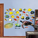 "Fathead Wall Decal, ""Tropical Fish"""