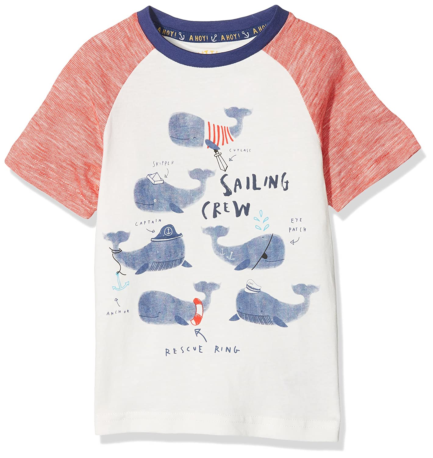Mothercare Baby Boys' Little Marine T-Shirt PB032