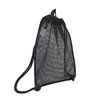 20a5beb033 Eastsport High-Capacity Mesh Drawstring with Cinch-able Closure, Black