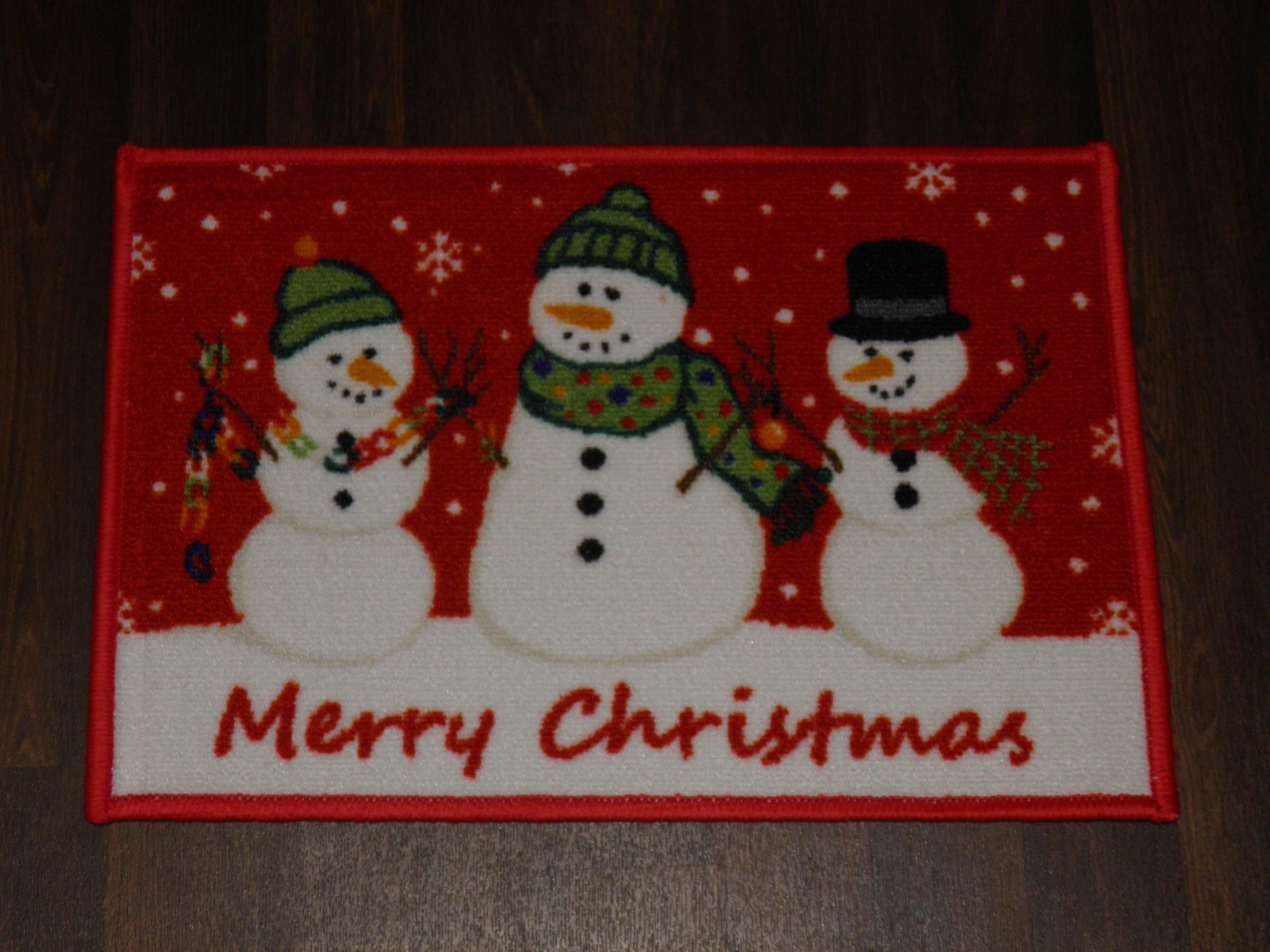 Non Slip Christmas Door Mat 40x60cm Various Designs