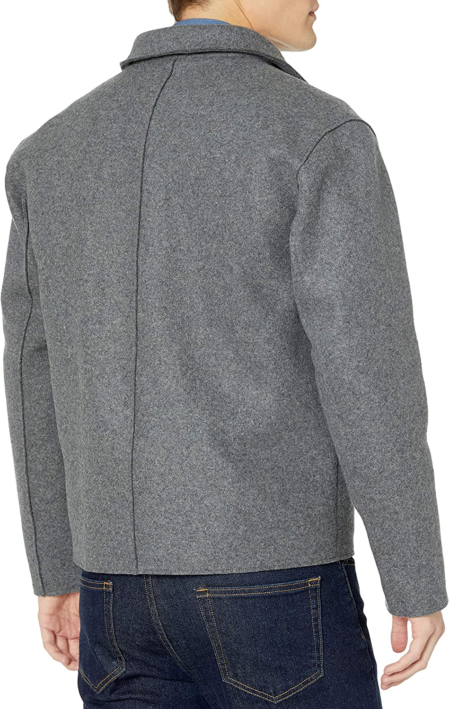 Jotebriyo Mens Cotton Plain Button Down Casual Lapel Business Flap Pockets Long Sleeve Shirts