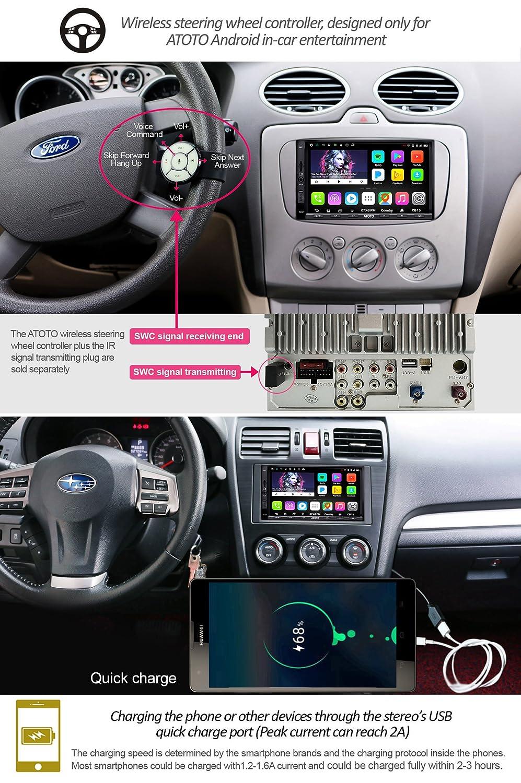 Mua sản phẩm ATOTO A6 Android Car Navigation Stereo w/Dual Bluetooth