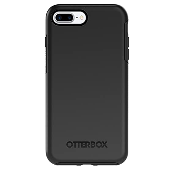 low cost fe3e7 7e503 OtterBox SYMMETRY SERIES Case for iPhone 7 Plus (ONLY) - Retail Packaging -  BLACK