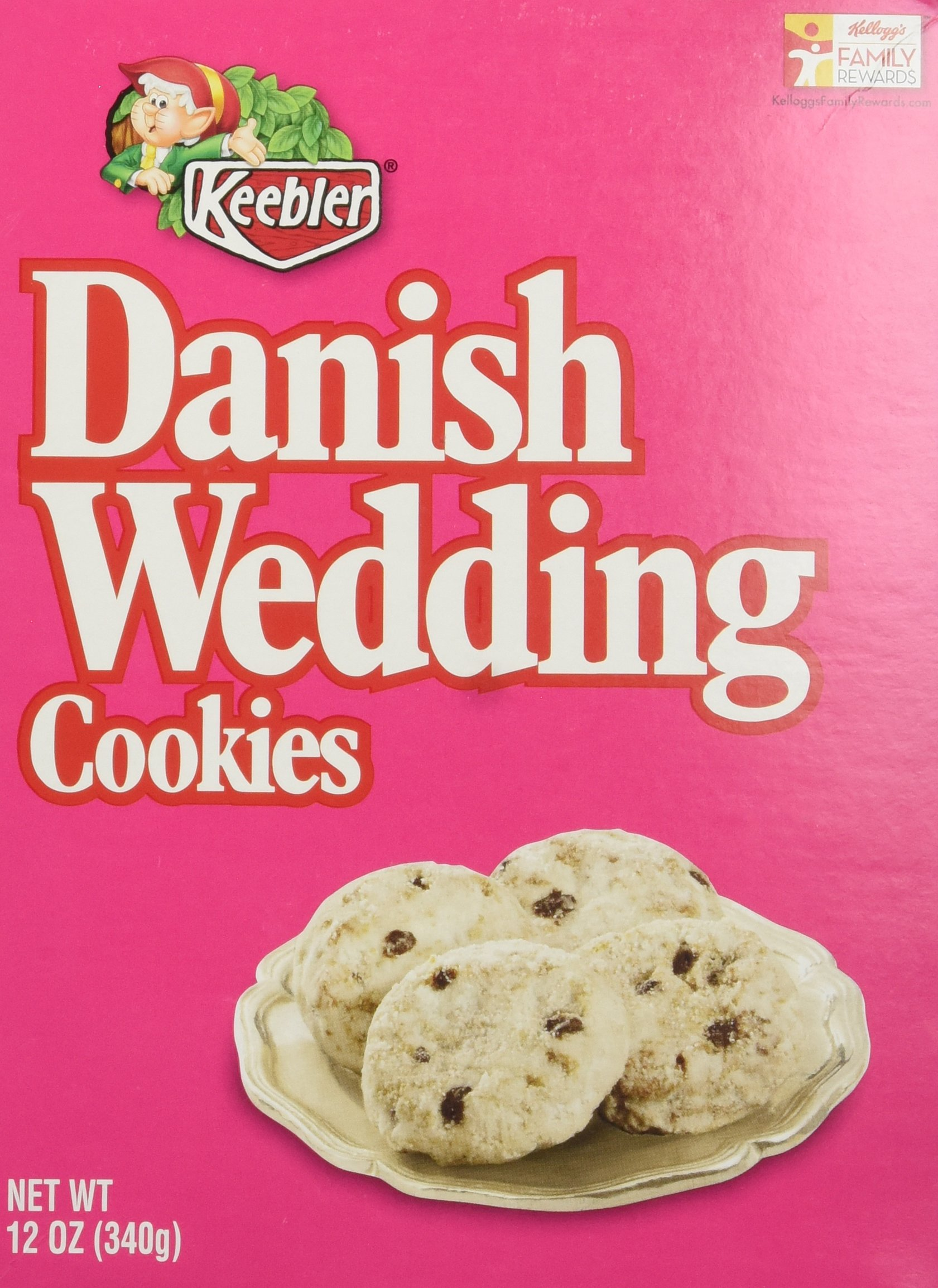 Amazon.com: Keebler Cookies, Danish Wedding, Flavors of Coconut and ...