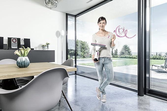 Kärcher Window Vac WV 2 Premium PINK Ribbon - Limpiadora de ...
