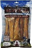 Loving Pets Pure Buffalo 10-Inch Backstrap Tendon Dog Treat, 10-Pack
