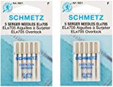ELX705 Serger Needles -Size 14/90 5/Pkg