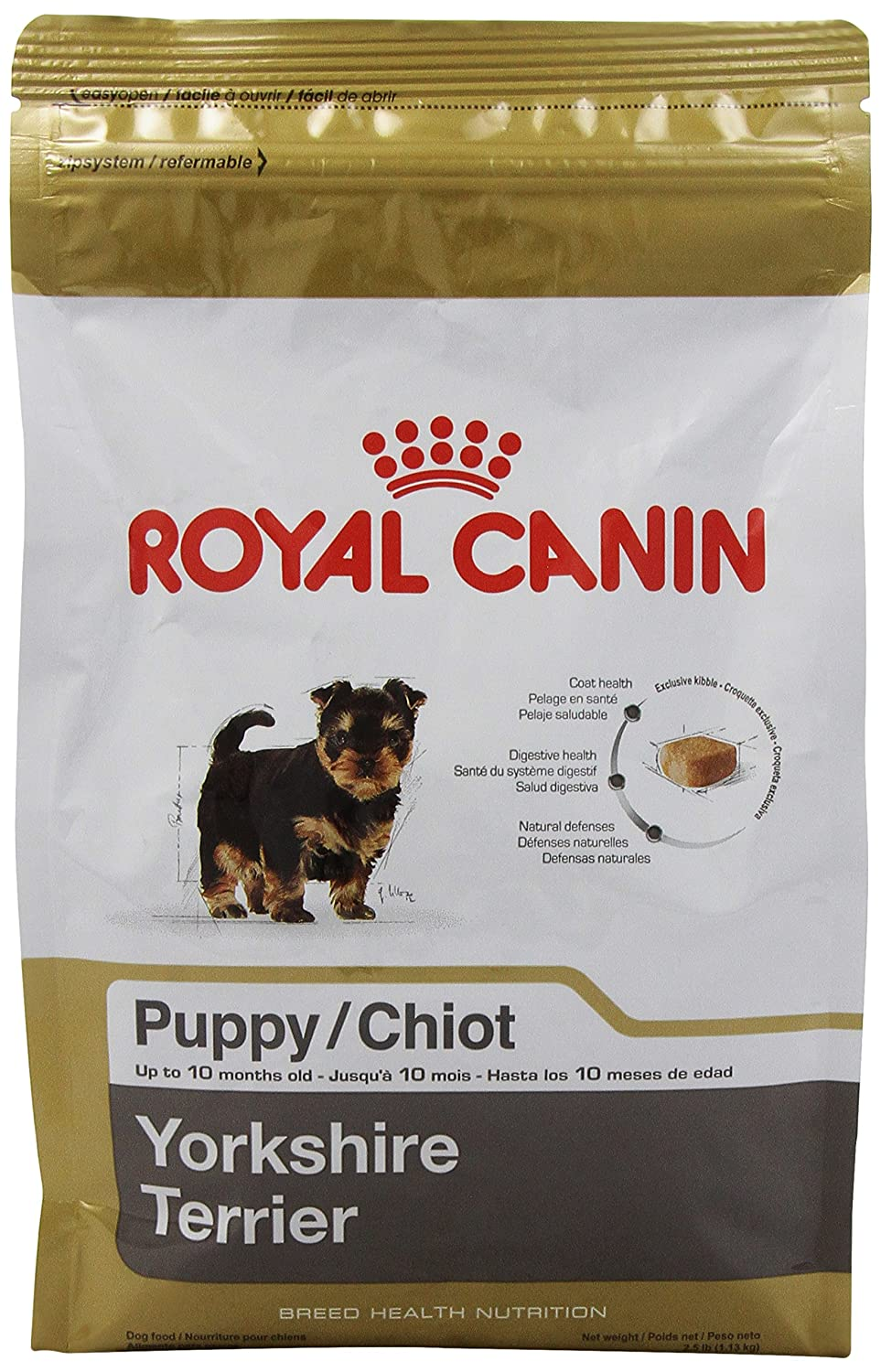Best dog food for yorkies 2018 happy pets now top 6 dog foods for yorkies chart nvjuhfo Images