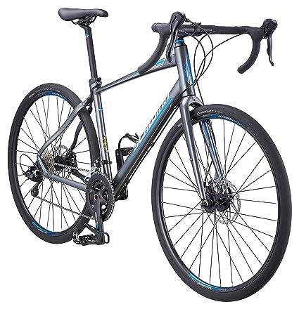 25d092581bf Amazon.com : Schwinn Vantage Rx 2 Road Bike, Charcoal, 45cm/Small ...