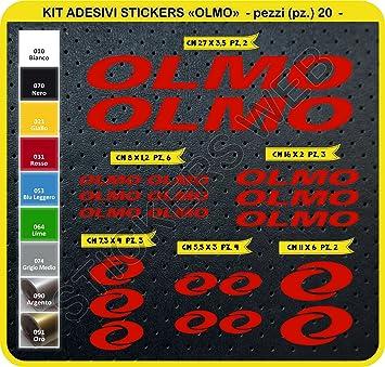 Adhesivos para bicicleta OLMO - Kit de adhesivos, 20 unidades ...
