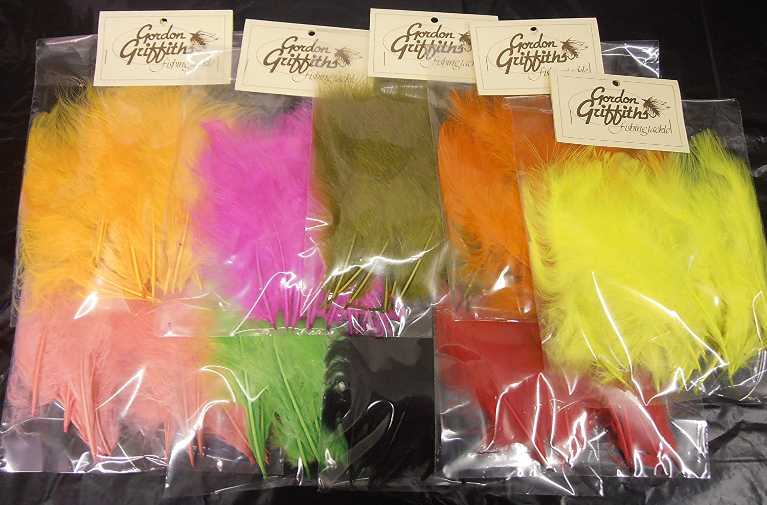 Gordon Griffiths Turkey Marabou Feathers 15 Selected Large Plumes Buy 1 get 1 free