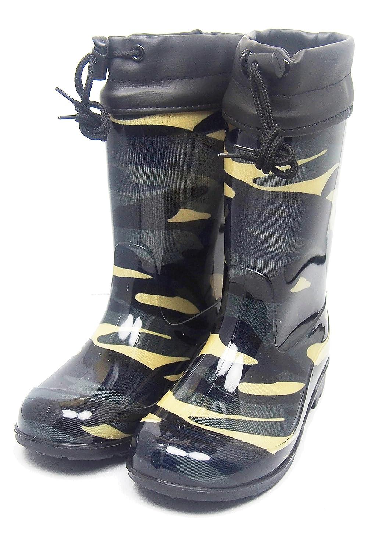 『ALRCO,.LTD』子供フード付 レインブーツ 長靴
